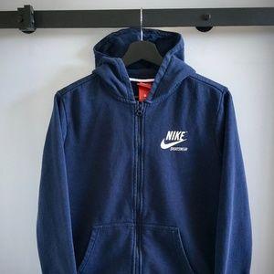 Nike Sportswear Long-Sleeve Zip Hoodie Sweatshirt
